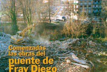 CALLE MAYOR 183 – COMENZADAS LAS OBRAS DEL PUENTE DE FRAY DIEGO