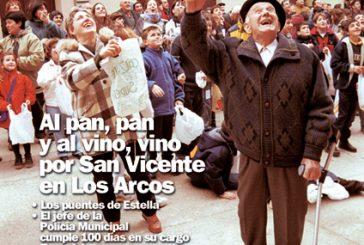 CALLE MAYOR 206 – AL PAN, PAN Y AL VINO, VINO POR SAN VICENTE EN LOS ARCOS