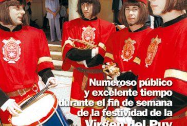 CALLE MAYOR 215 – NUMEROSO Y EXCELENTE TIEMPO DURANTE EL FIN DE SEMANA DE LA FESTIVIDAD DE LA VIRGEN DEL PUY