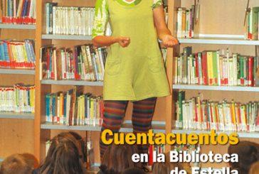 CALLE MAYOR 249 – CUENTACUENTOS EN LA BIBLIOTECA DE ESTELLA