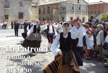 CALLE MAYOR 311 – LA PATRONA REUNIÓ A LOS ESTELLESES EN EL PUY