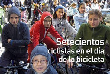 CALLE MAYOR 320 – SETECIENTOS CICLISTAS EN EL DÍAS DE LA BICICLETA