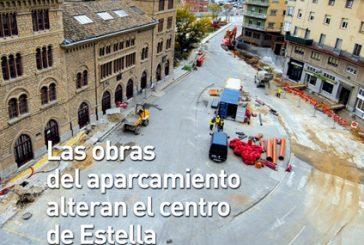 CALLE MAYOR 322 – LAS OBRAS DEL APARCAMIENTO ALTERAN EL CENTRO DE ESTELLA