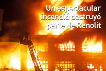 CALLE MAYOR 326 – UN ESPECTACULAR INCENDIO DESTRUYÓ PARTE DE RENOLIT