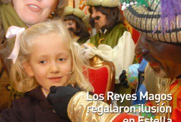 CALLE MAYOR 351 – LOS REYES MAGOS REGALARON ILUSIÓN EN ESTELLA