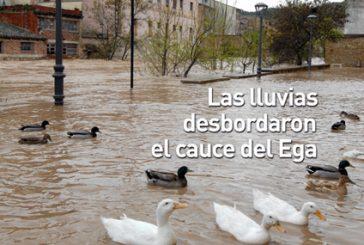 CALLE MAYOR 357 – LAS LLUVIAS DESBORDARON EL CAUCE DEL EGA