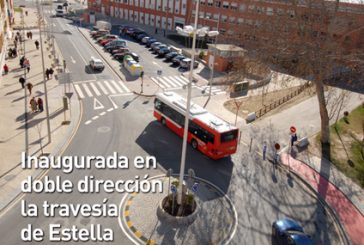 CALLE MAYOR 378 – INAUGURADA EN DOBLE DIRECCIÓN LA TRAVESÍA DE ESTELLA