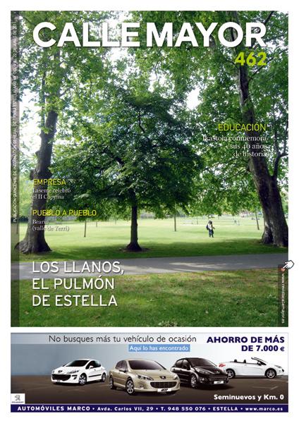 CALLE MAYOR 462 – LOS LLANOS, EL PULMÓN DE ESTELLA