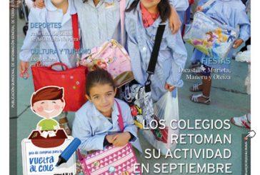 CALLE MAYOR 468 – LOS COLEGIOS RETOMAN SU ACTIVIDAD EN SEPTIEMBRE