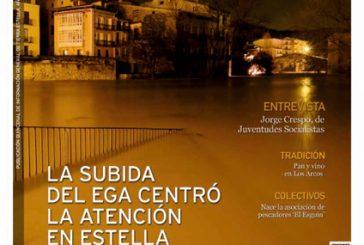 CALLE MAYOR 502 – LA SUBIDA DEL EGA CENTRÓ LA ATENCIÓN EN ESTELLA