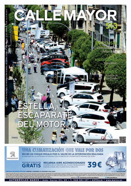 CALLE MAYOR 513 – ESTELLA, ESCAPARATE DEL MOTOR