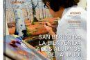 CALLE MAYOR 520 – SAN BENITO DA LA BIENVENIDA A LOS ALUMNOS DEL ALMUDÍ