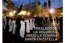 CALLE MAYOR 533 – EL TRASLADO DE LA DOLOROSA INICIÓ LA SEMANA SANTA EN ESTELLA