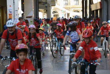 1.200 personas secundaron el Día de la Bicicleta de Estella