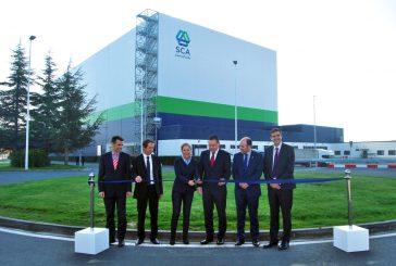 La papelera de Allo inaugura un centro logístico con una inversión de 18'5 millones