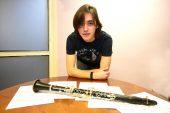 """PRIMER PLANO – Víctor Lardiés – Clarinetista – """"Me gustaría tocar en cualquier orquesta. No hace falta llegar a Berlín o a Viena, en la de Navarra sería ya lo máximo"""