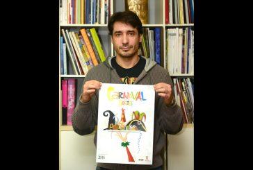 Un cartel del estellés Raúl López gana el concurso de Carnaval de Soria