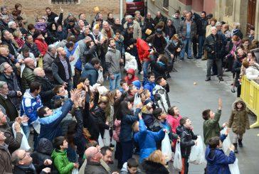 Los Arcos celebró con pan y vino la festividad de San Vicente