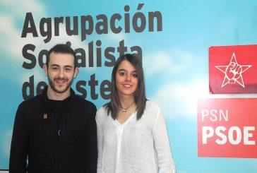 Maribel Ciordia, nueva secretaria general de Juventudes Socialistas de Estella