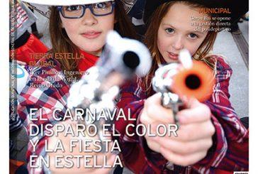 CALLE MAYOR 579 – EL CARNAVAL DISPARÓ EL COLOR Y LA FIESTA EN ESTELLA