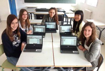 Cinco alumnas de Lizarra Ikastola, premiadas en un concurso periodístico