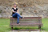 """PRIMER PLANO – Gabina Oronoz – Mejor expediente  de selectividad en Estella – """"Estoy muy contenta porque puedo elegir qué estudiar el próximo año"""""""