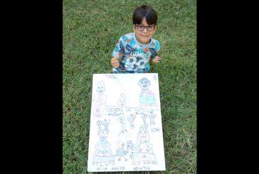 Mikel Rada Miranda – Cartel categoía infantil – Un inicio festivo con todos sus elementos