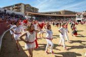 Larraiza celebró su 50 aniversario con un homenaje a la Jota Vieja