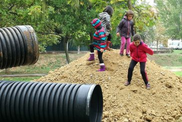 Villatuerta, pionera en la habilitación de una zona de juego libre y natural