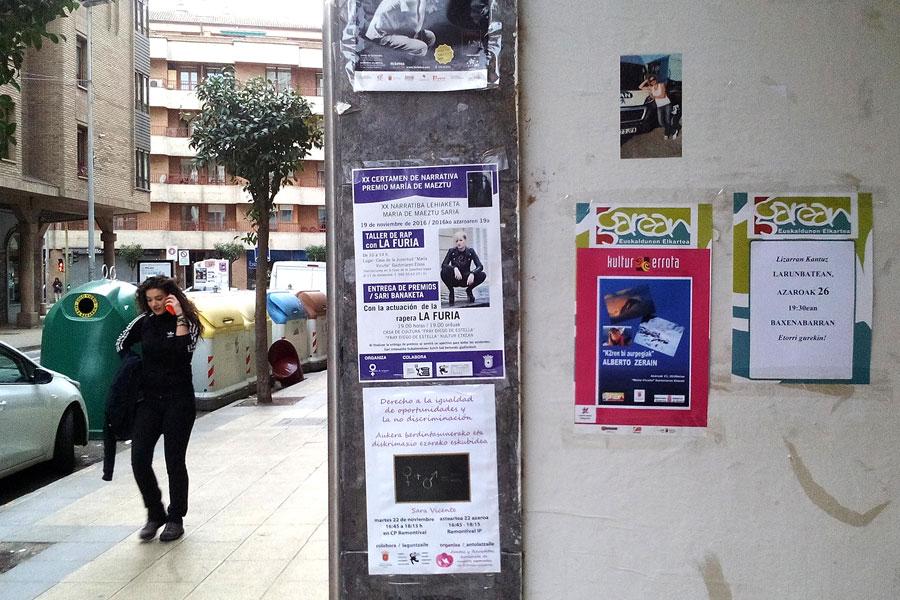 El Ayuntamiento incide en los espacios para avisos en la calle