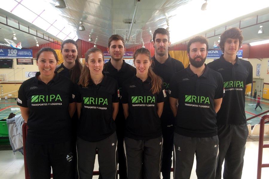 El club Estella se coloca  tercero en Liga Nacional  de Primera División