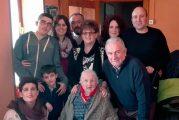 Dicastillo homenajea a la vecina Faustina Ollobarren Sesma por su 100 cumpleaños
