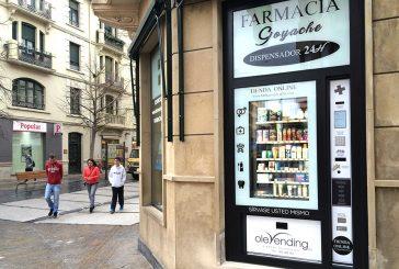 Nuevo dispensador farmacéutico 24 horas y servicio online 365 días al año
