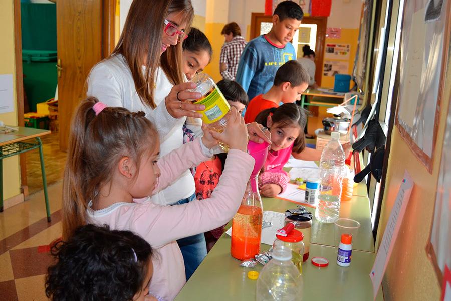 Jornadas sobre ciencia en el colegio La Balsa de Arróniz