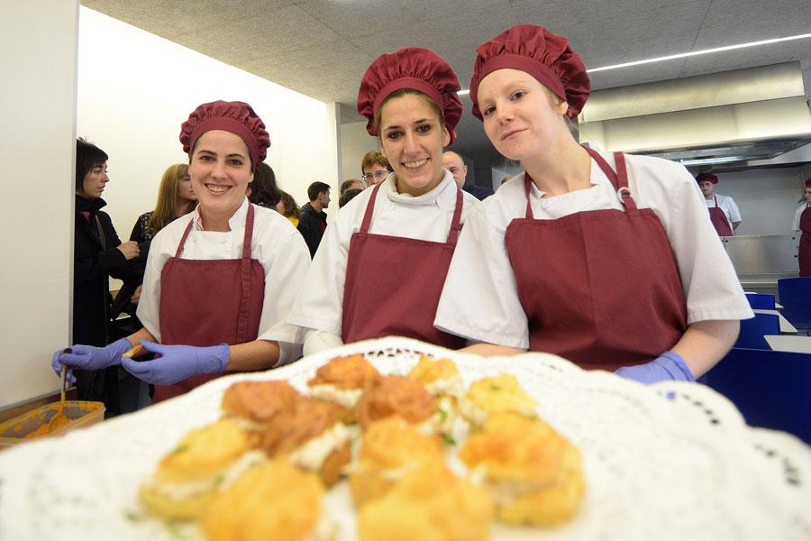 Nueva especialidad de cocina en la Escuela Taller