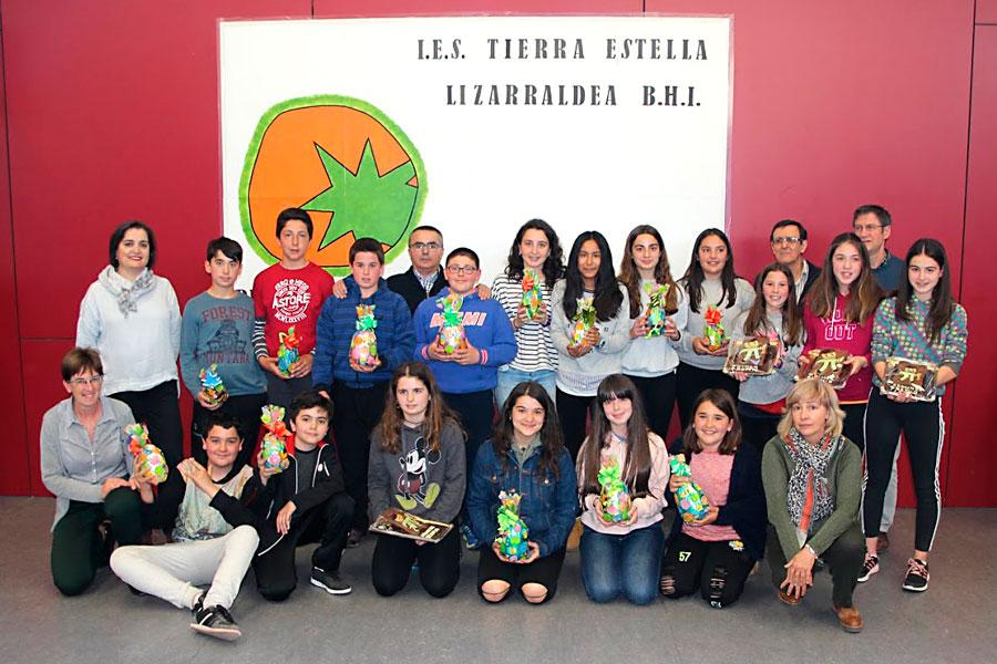 El IES Tierra Estella celebró la final del concurso 'Las 7 pruebas'