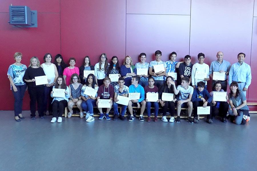 Un total de 15 alumnos recibieron el diploma de LaborESO