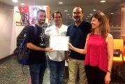 José Miguel Mosén, ganador del concurso 'Pitch & Beer'
