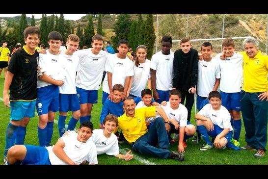 Los infantiles del Ondalán, campeones de los Juegos Deportivos de Navarra