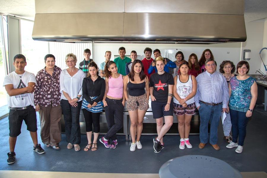 La Escuela Taller de Cocina formará a 15 alumnos
