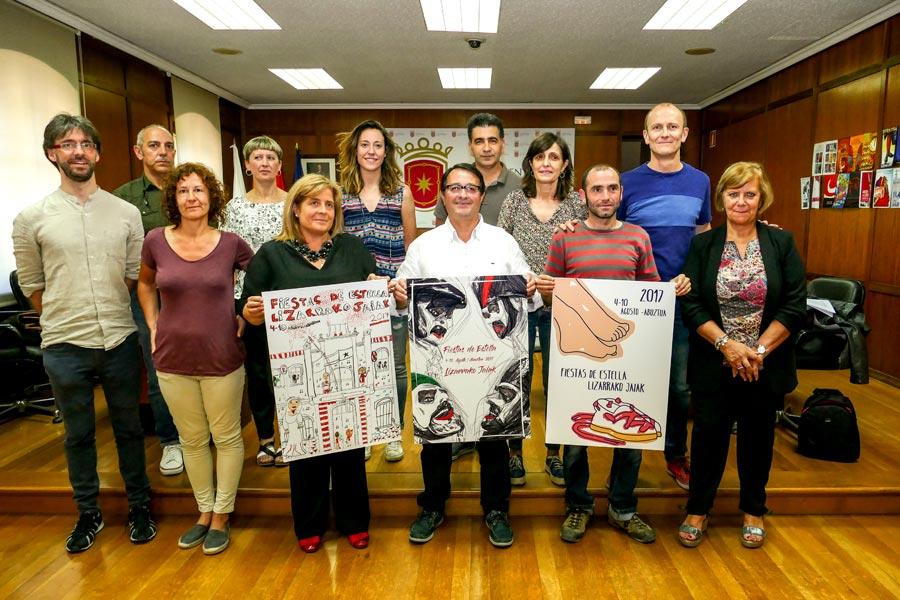 El cartel 'Trazos' anunciará  las fiestas de este año