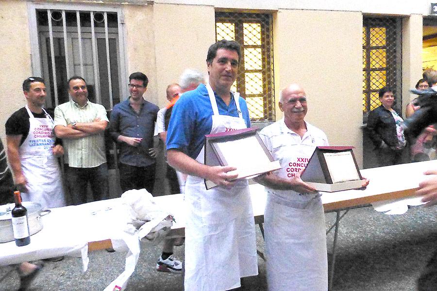 Jesús Salsamendi y Juan Carlos Fuertes
