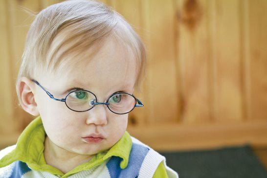 Sus primeras gafas