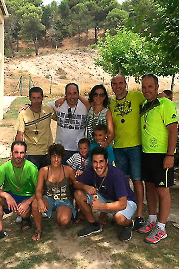 Récord de participación en el VI Torneo Arco-Iris Camping Iratxe
