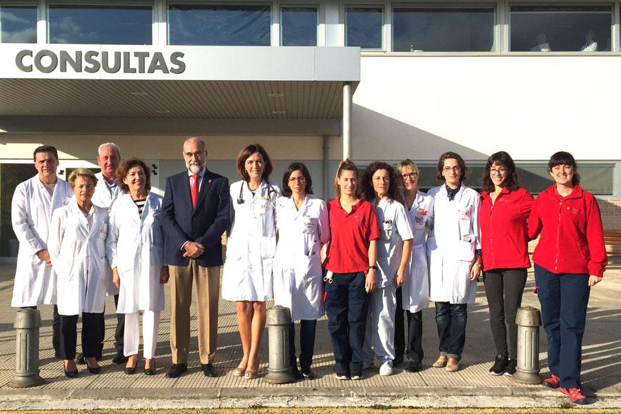 El Servicio de Hospitalización a Domicilio incorpora  dos profesionales y cuatro nuevas camas