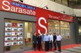 Inmobiliaria Sarasate estrena nueva oficina en Pamplona
