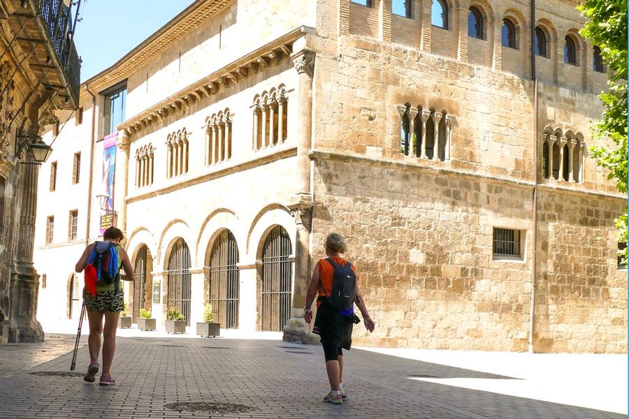 Estella dice adiós a la temporada alta de peregrinos