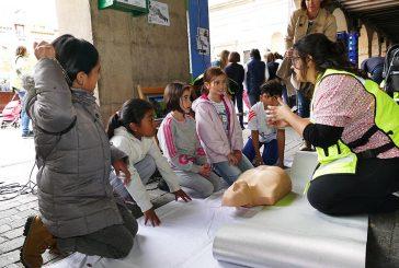 Los ciudadanos aprendieron a salvar vidas