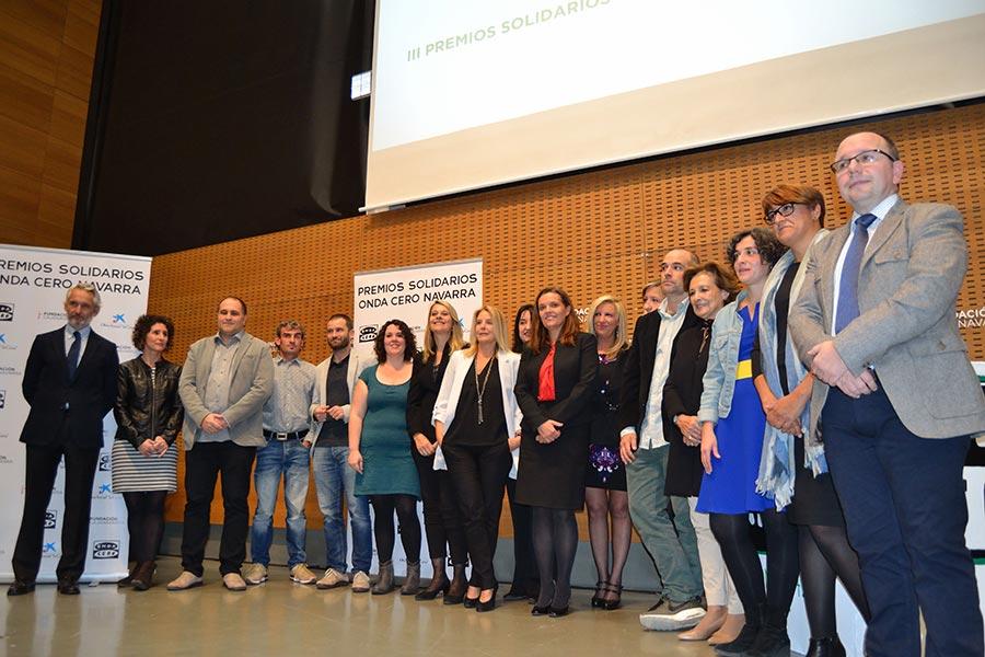 El S.S.B. de Estella, ganador de uno de los Premios Solidarios de Onda Cero