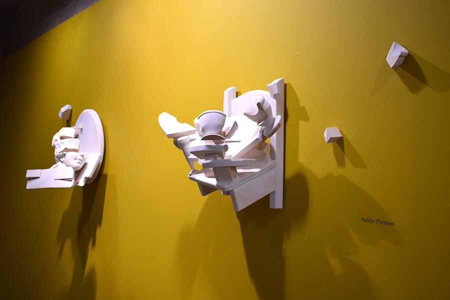 Las paletas de Picasso y Maeztu, en la exposición de Héctor Urra